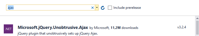 jquery_Unobtrusive_ajax_install